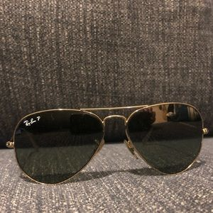 Classic Aviator Ray Ban Sunglasses